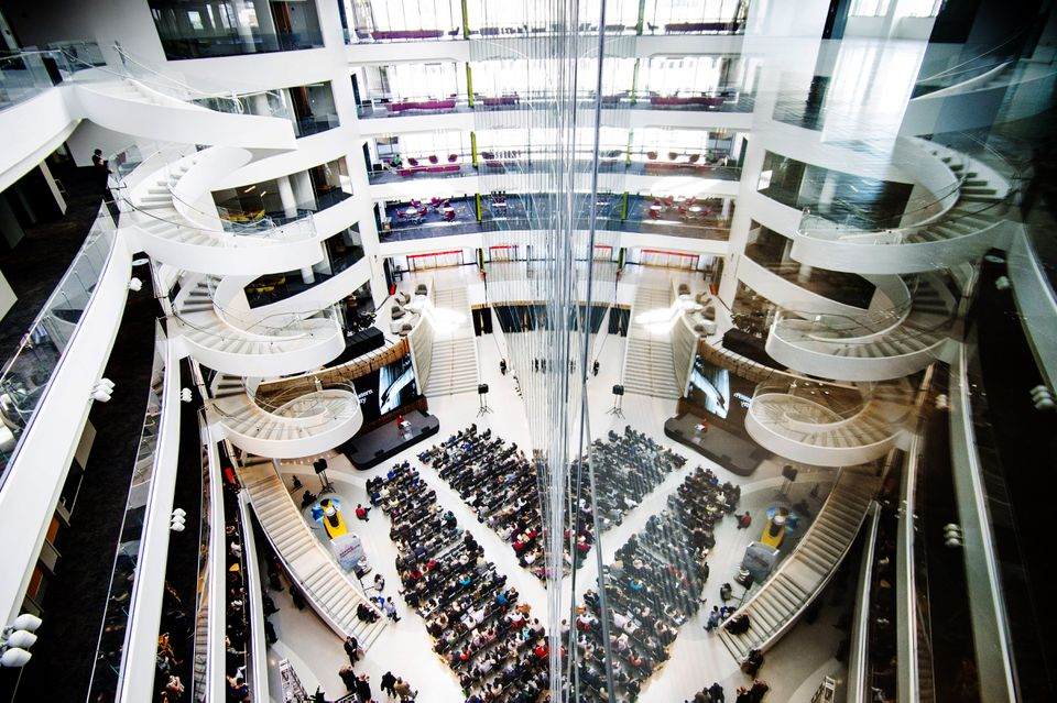 Northeastern University celebrated the opening of its new Interdisciplinary Science and Engineering Complex on Monday.