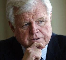 Senator Edward M. Kennedy.
