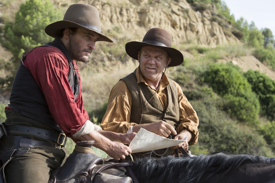 """Joaquin Phoenix (left) and John C. Reilly star in """"The Sisters Brothers."""""""