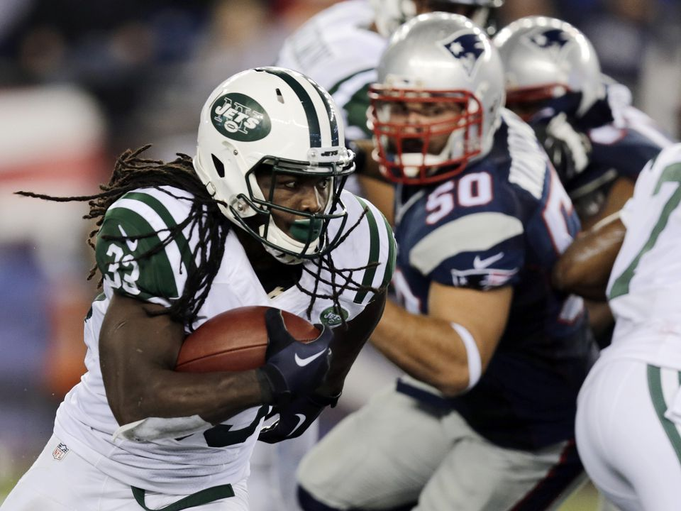Chris Ivory ran for 107 yards and a touchdown for the Jets.