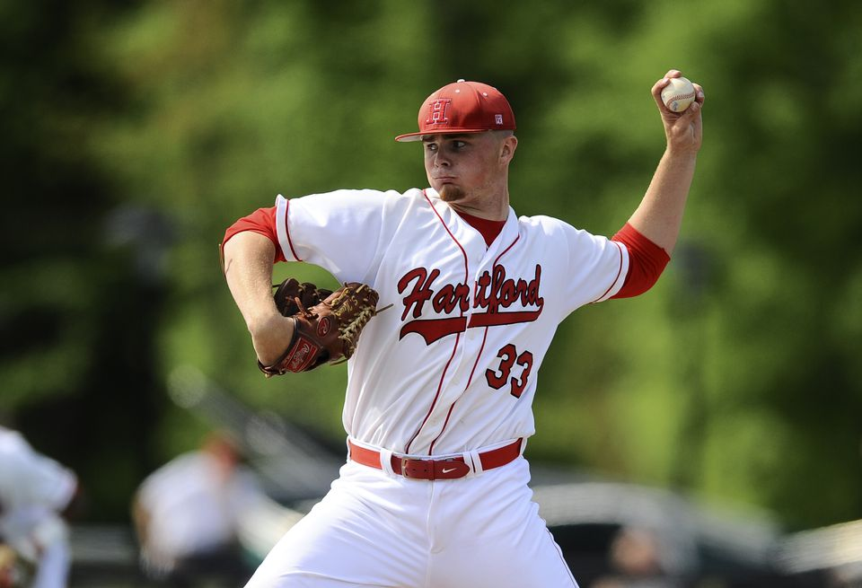University of Hartford junior pitcher Sean Newcomb has attracted the attention of scouts from the major leagues.