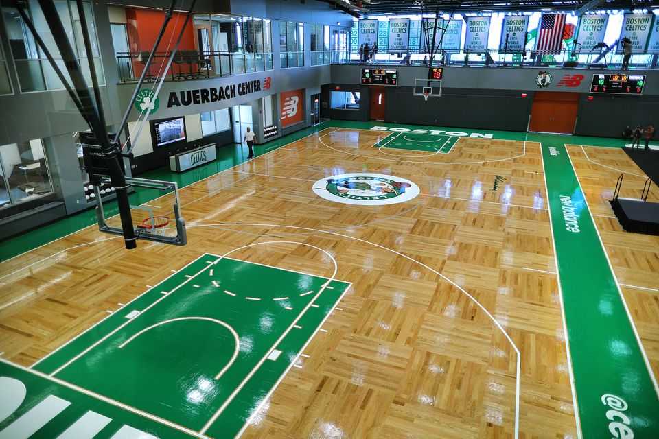 The Celtics' new practice facility.