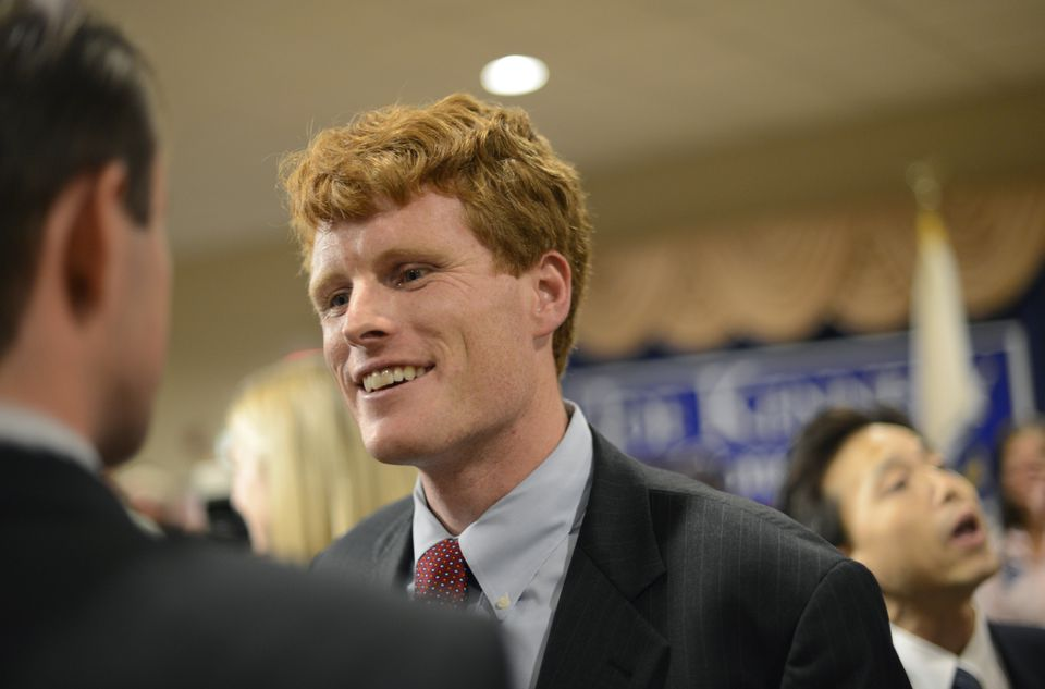 Representative Joseph Kennedy III announced his support for the nuclear agreement with Iran.