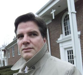 The Rev. Timothy J. Lambert (above), a 44-year-old Catholic priest on a leave of absence, made sexual misconduct allegations against Brooklyn priest Joseph P. Byrns in 1998. His older brother, Robert, has made similar accusations.