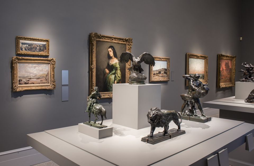 The Wadsworth Atheneum's European art collection in the restored Morgan Memorial Building.