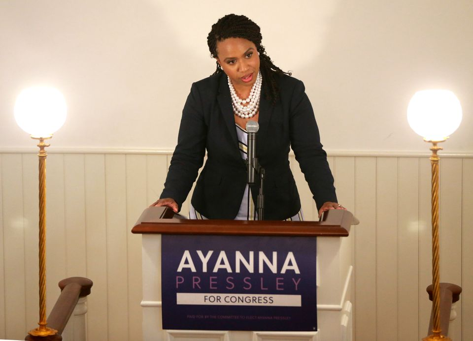 Ayanna Pressley's campaign hopes the 30-second spot on Spanish language television stations will help her energize Latino voters before the Sept. 4 primary.
