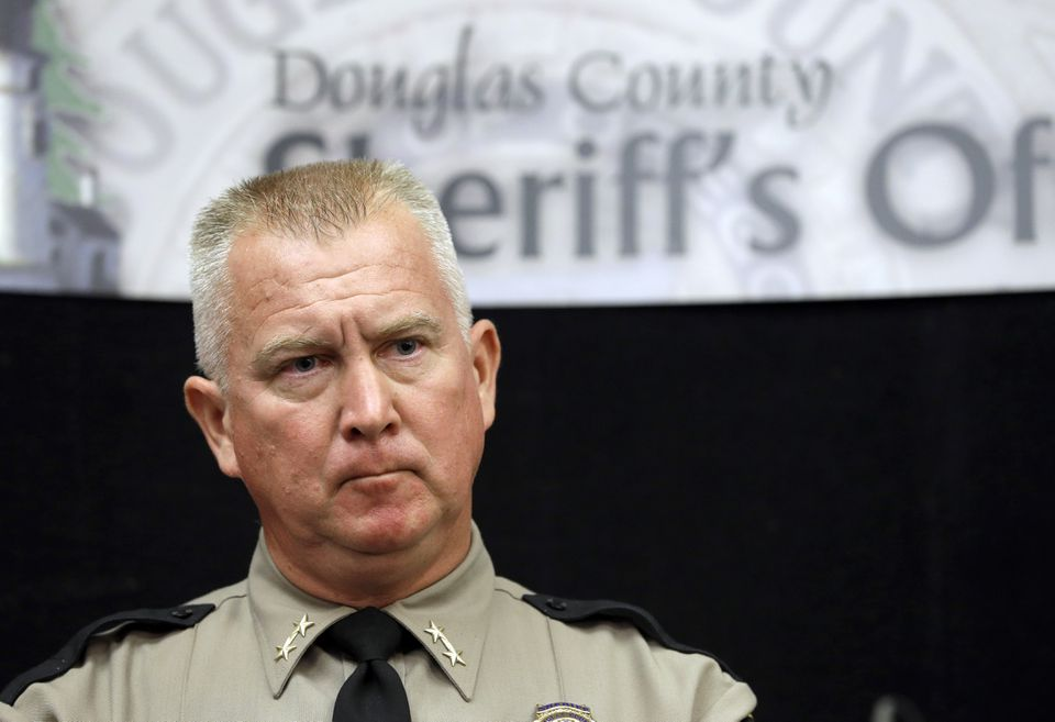 Douglas County Sheriff John Hanlin has been against gun control measures, including Oregon's law expanding background checks in private gun sales.