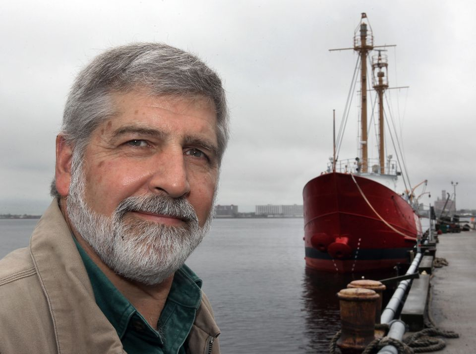 Bob Mannino has become a steward for Nantucket Lightship/LV-112, built in 1936.