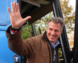 Republican Scott Brown has yet to declare his intentions for the special election to fill John Kerry's US Senate seat.