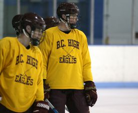 Thomas Kramer and BC High are ranked No. 1 in the Globe's Top 20 rankings.