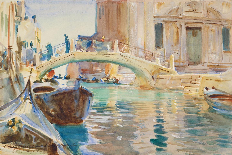 """John Singer Sargent's """"San Giuseppe di Castello, Venice.''"""