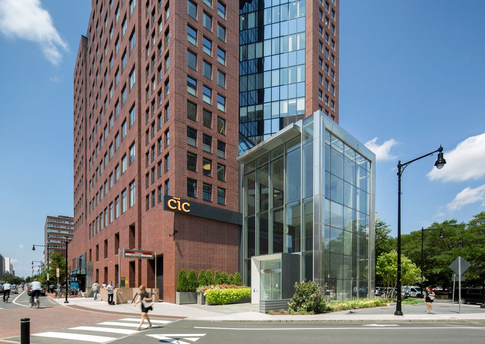 A rendering of new space planned for Cambridge Innovation Center in Kendall Square.