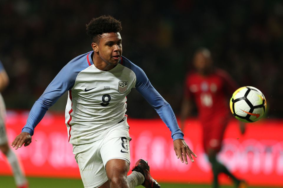 7fd52a088 Weston McKennie became the third-youngest person to score in his debut with  the US