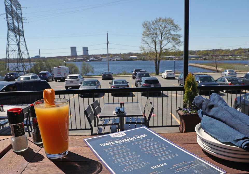 Barrett's Waterfront in Fall River is hosting a sold-out breakfast with special menu items and drinks for those who wish to watch the implosion.