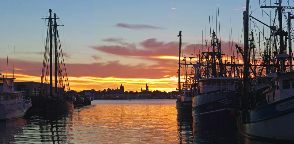 Travel website Expedia.com says New Bedford has some of the best sunsets in the country.