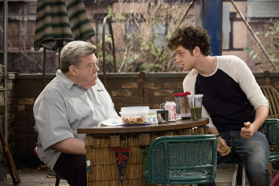 """George Wendt (left) and Mike Castle star in TBS's """"Clipped."""""""