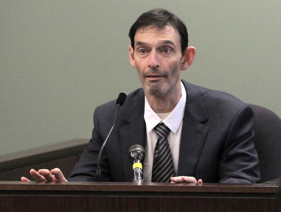 Bradford Casler gave his statement during his sentencing hearing in Middlesex Superior Court in Woburn on Tuesday.