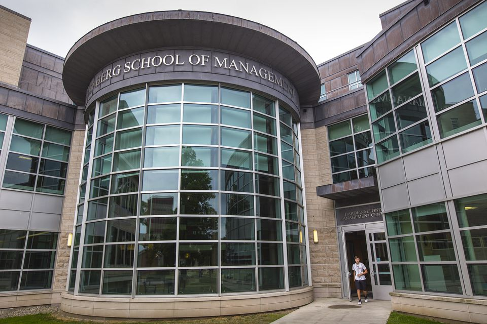 The Isenberg School of Management at University of Massachusetts Amherst is planning to break ground next month on an addition and renovation.