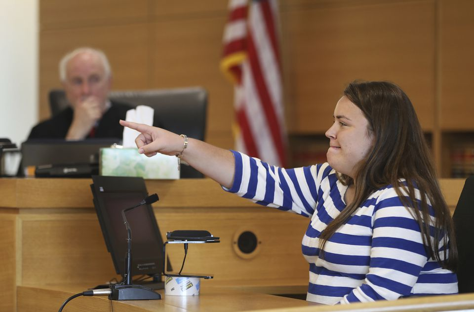 Camdyn Roy pointed to Michelle Carter to identify her while testifying Tuesday.