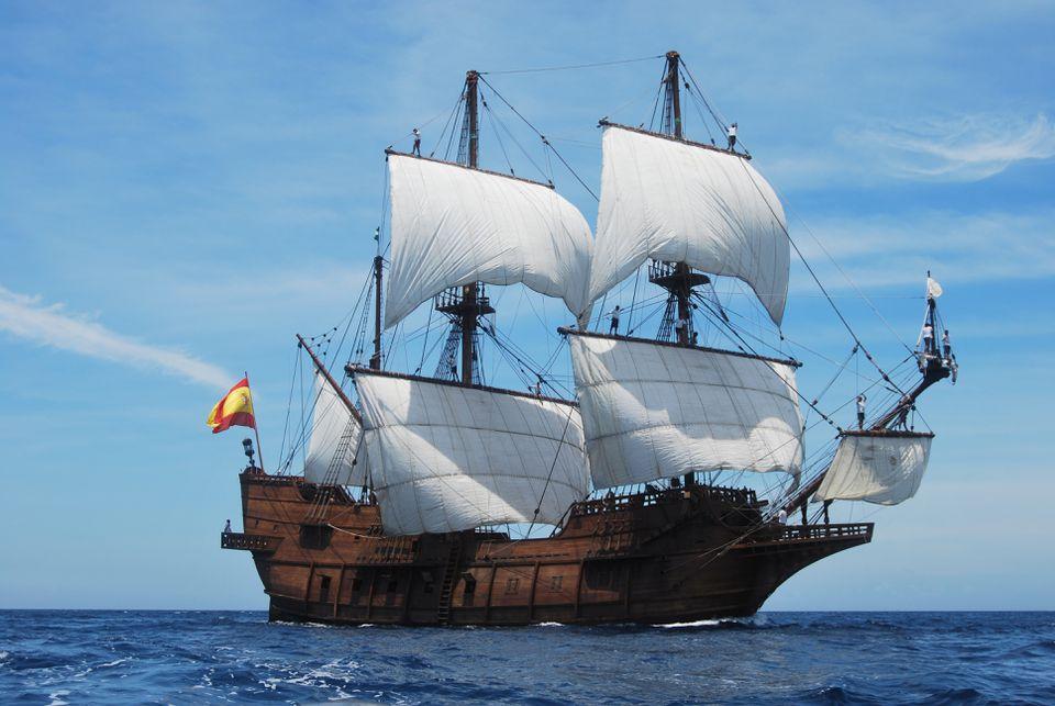 The tall ship El Galeon will sail into Newburyport on May 25.