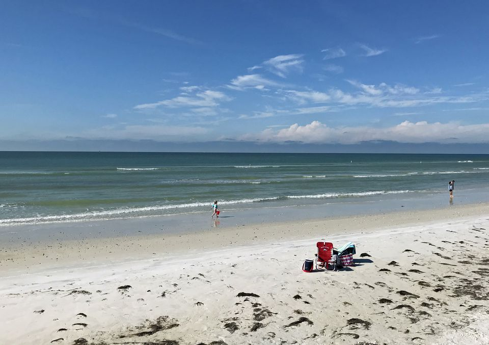 Honeymoon Island State Park has an inviting four-mile beach.