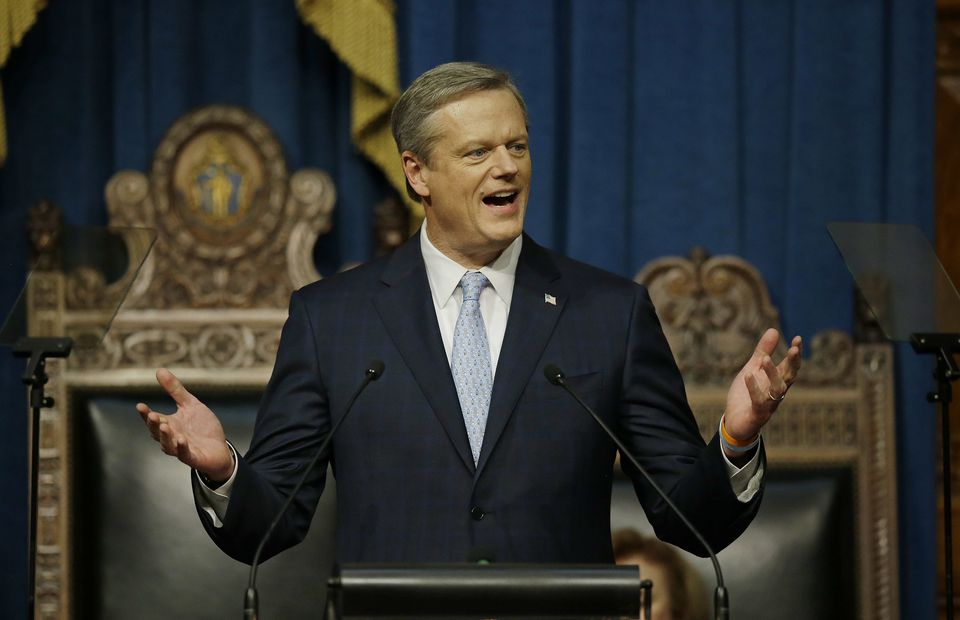 Governor Charlie Baker on Wednesday criticized the way a state agency announced big health insurance changes.