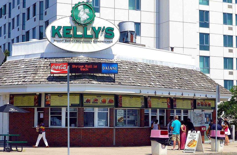 Kelly's is a Revere Beach fixture.