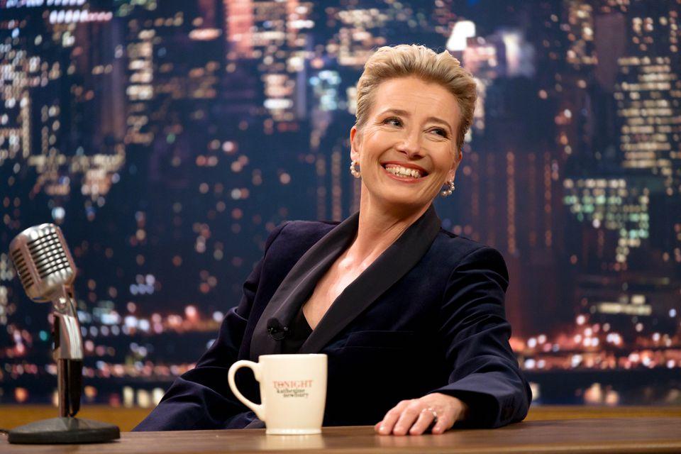 "Emma Thompson stars in ""Late Night."""