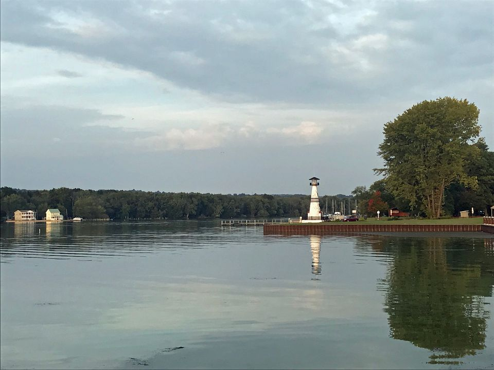Visit the National Comedy Center in summertime and enjoy the lakeside activities (and views) at the Chautauqua Harbor Hotel.