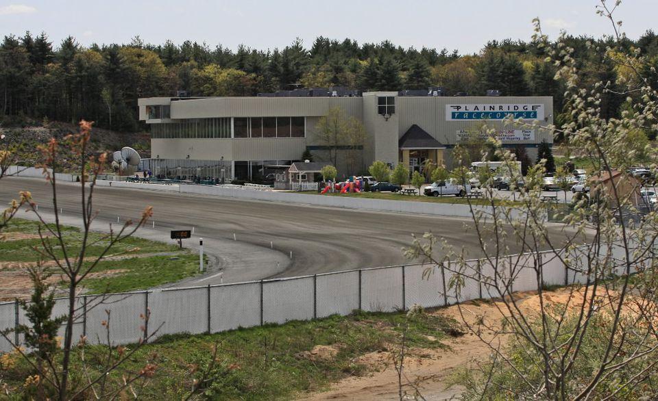 The exterior of Plainridge Racecourse as seen in 2010.