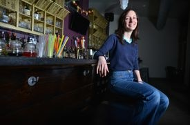 Dimitra Tsourianis, owner of cocktail bar Daddy Jones.