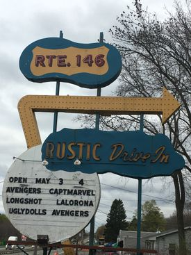 In North Smithfield, R.I., the Rustic Tri View Drive-In is now open for its 69th season.