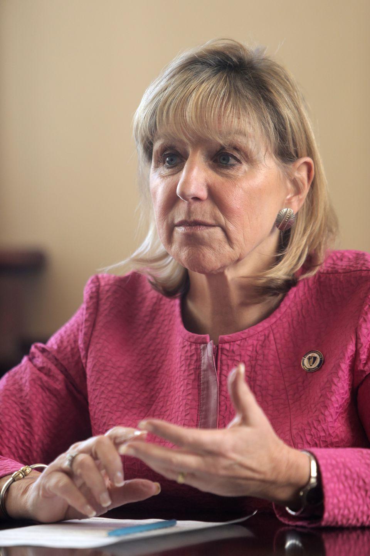 State Senator Karen Spilka of Ashland.