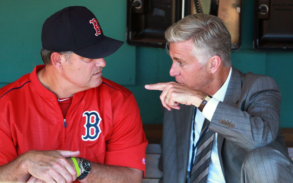 Dave Dombrowski's close eye on the Red Sox likely helps John Farrell more than it hurts him.
