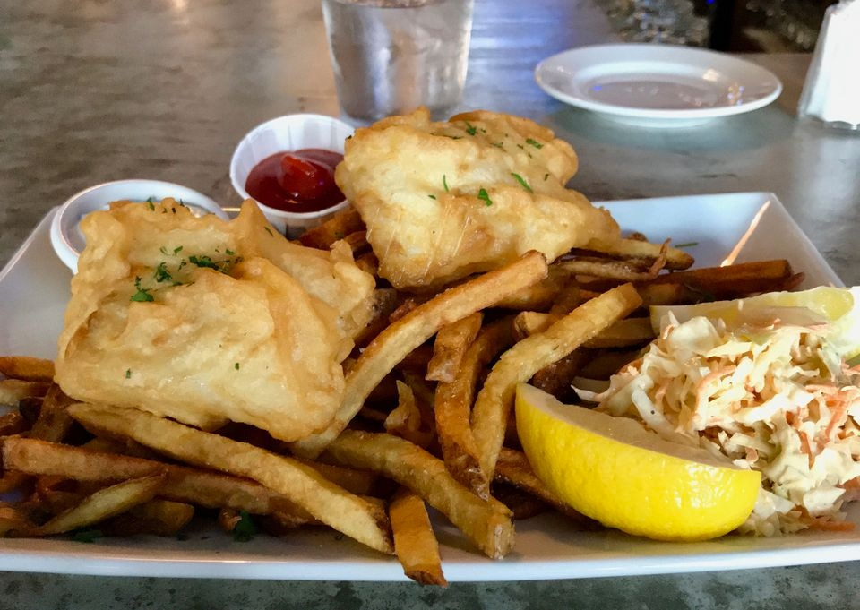 Oscar's fish and chips.