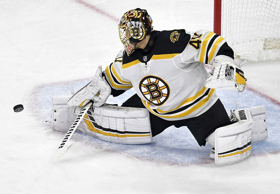 Tuukka Rask has given up only five goals in three games to the Hurricanes.
