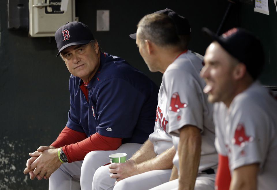 John Farrell has the Red Sox on track for another worst-to-first season.