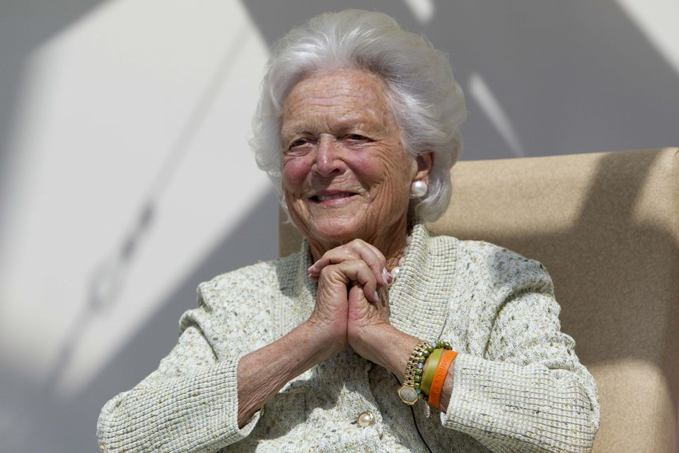 """Barbara Bush's dispatch to the alumnae magazine for Smith College led the """"Alumnae Lives Update"""" section for the Class of 1947."""