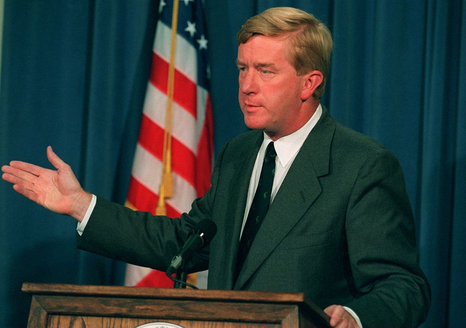 Governor William Weld.
