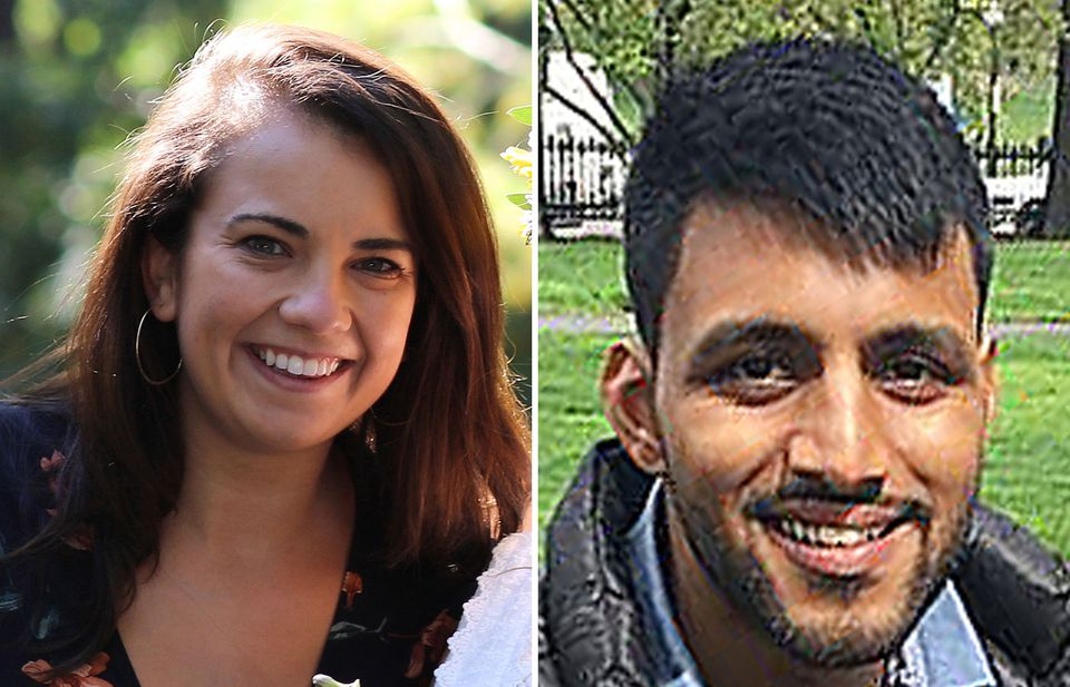 Alexis Cole and Upendra Naidoo.