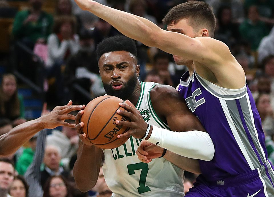 Jalen Brown had a big second half in helping to rally the Celtics past the pesky Kings.