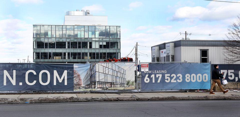 Innovation Square in Boston's Seaport is under development.