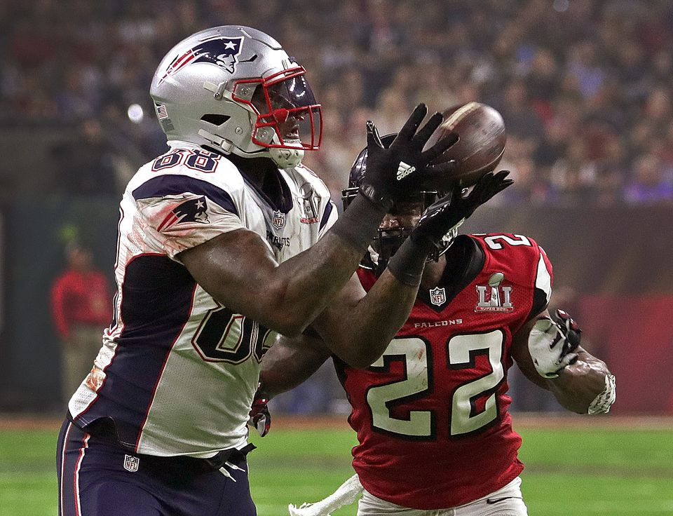 Martellus Bennett and his fellow Patriots tight ends will be working with a new coach next season.