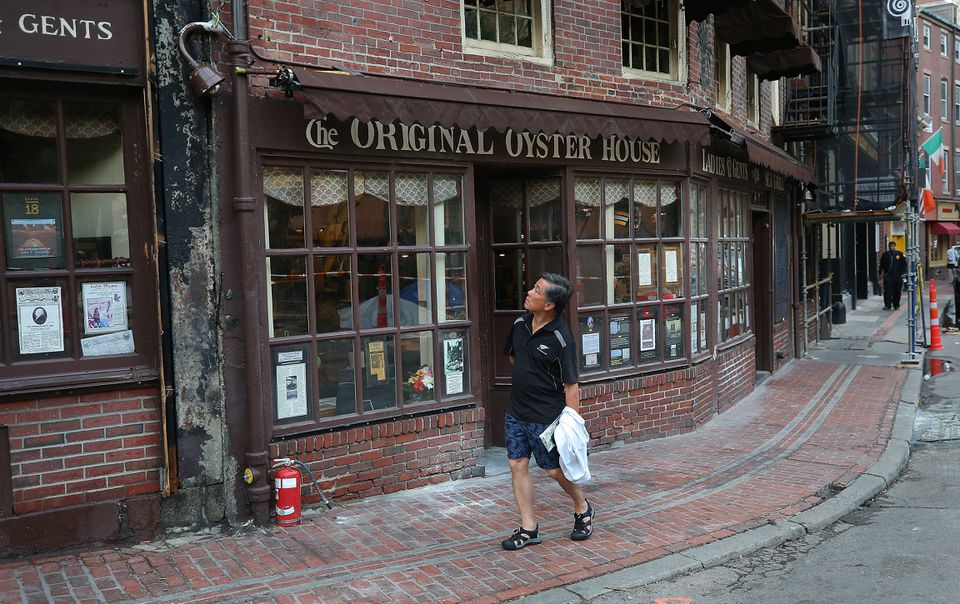 The Union Oyster House is closed while it is cleaned and inspected by City of Boston officials.