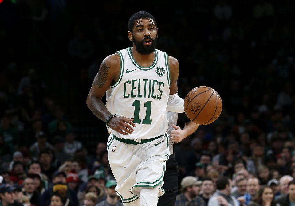 301e0811a Kyrie Irving of the Celtics received the most fan votes for the All-Star  Game
