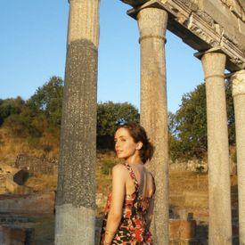 """Eliza Dushku in a scene from """"Dear Albania."""""""
