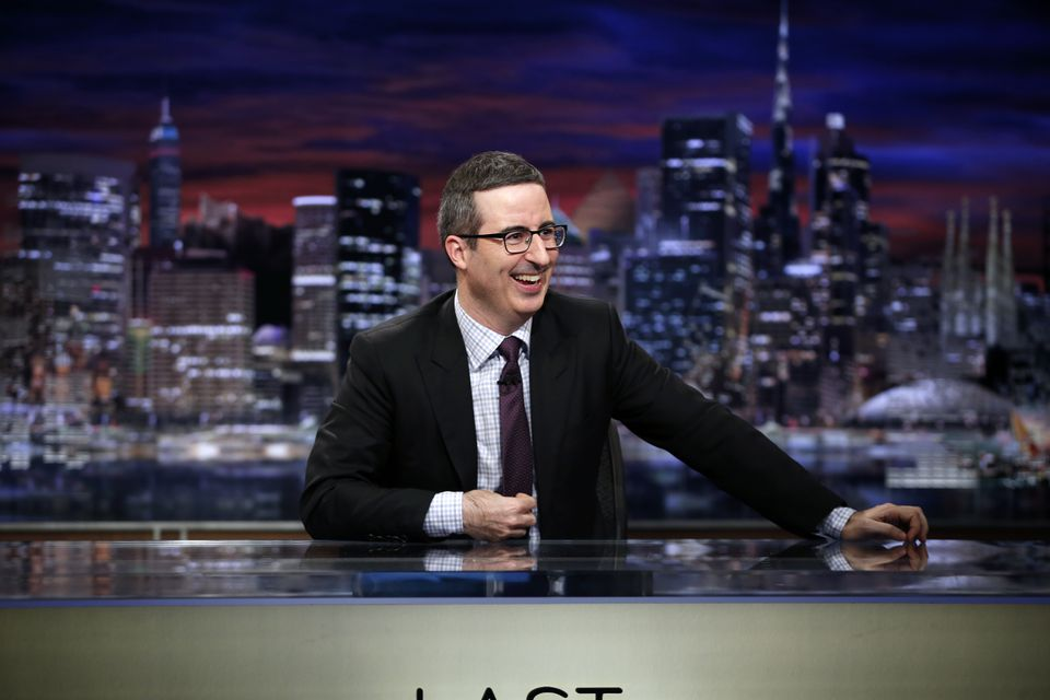 "Comedian John Oliver on ""Last Week Tonight with John Oliver."""