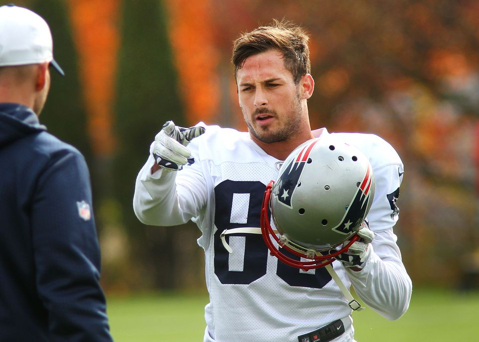 Danny Amendola is entering his fourth season with the Patriots.