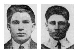 Angelo (left) and Diego Riggio