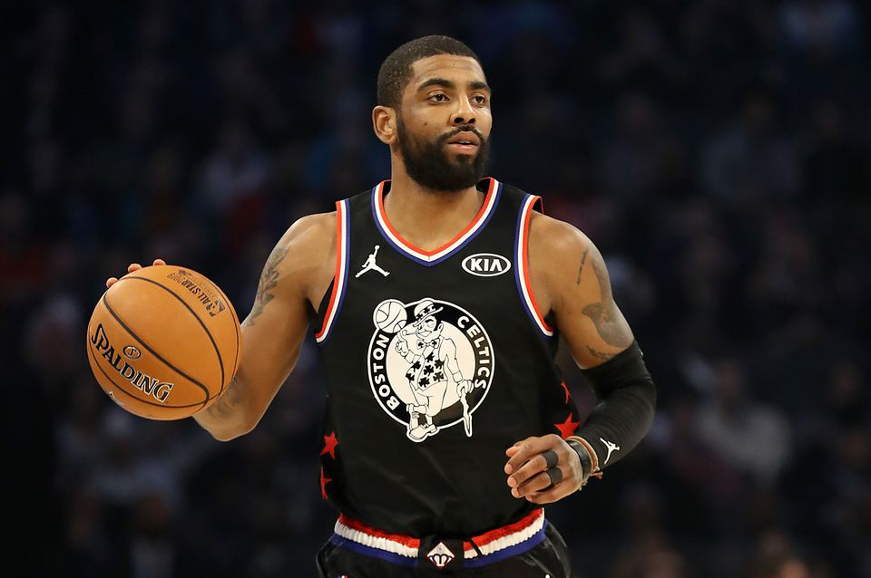 Kyrie Irving had 13 points, 9 rebounds, and 6 assists in 25 minutes for Team LeBron in the All-Star Game.